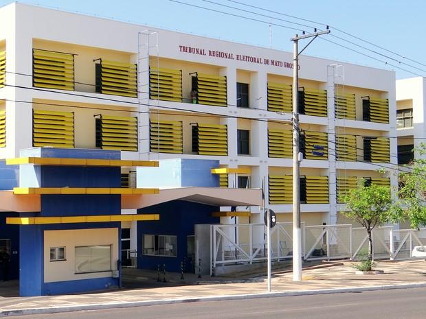 Tribunal Regional Eleitoral de Mato Grosso (TRE-MT)  (Foto: Assessoria)