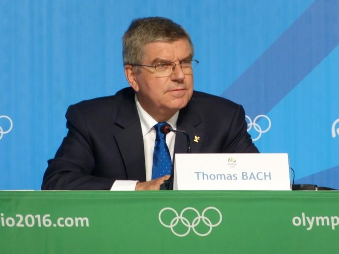 Thomas Bach,. presidente do Comitê Olímpico Internacional (Foto: Vicente Seda)