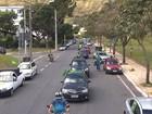 Grupo a favor do impeachment de Dilma faz carreata em Belo Horizonte
