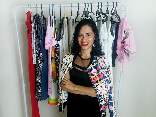 Jornalista Josy Vieira Costa começou a investir na moda delivery em 2013 (Foto: Arquivo Pessoal)