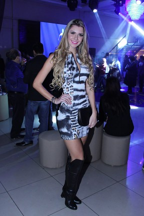 Ex-BBB Tatiele Polyana em evento em São Paulo (Foto: Thais Aline/ Ag. Fio Condutor)