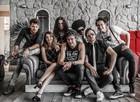 Sergio Guizé, Nathalia Dill, Alejandro Claveaux e banda Tio Che apresentam 'Além' (Foto: Artur Meninea/ Gshow)