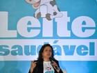 Kátia Abreu diz que é preciso firmeza nas análises de qualidade do leite