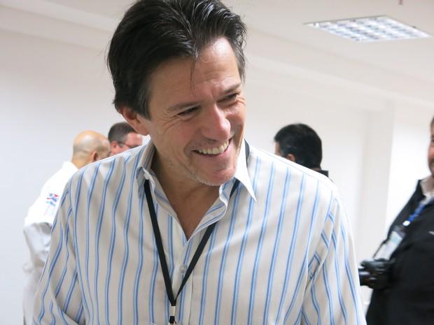 Maurice Albert Salama é um dos dentistas favoritos dos famosos (Foto: LG Rodrigues / G1)