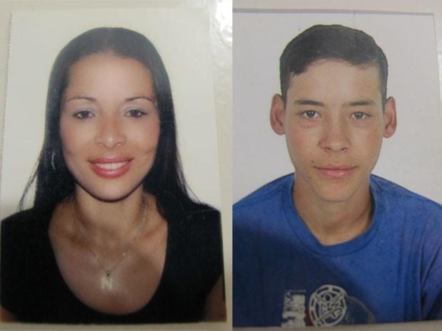 Mãe e filho foram esfaqueados dentro de casa em São Vicente (Foto: Jéssica Bitencourt / G1)