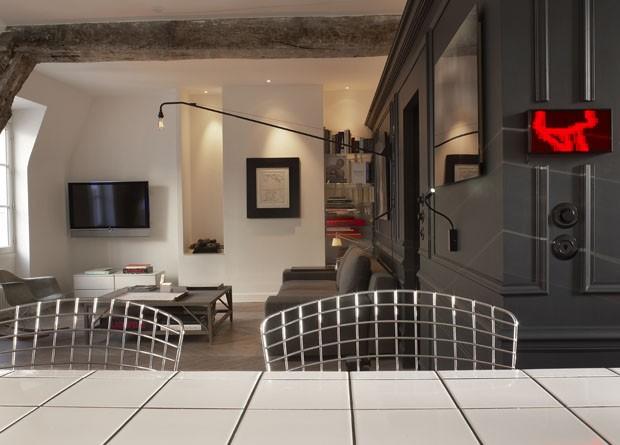 Apartamento em Paris de Marie de Roudilhe (Foto: Eric Laignel/ Divulgação)
