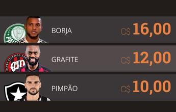 Estreante no Cartola, Borja começa o game valendo C$ 16; veja mais preços