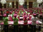 Xangai bate recorde com 511 pessoas abrindo massa de pizza