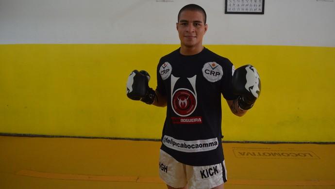 Felipe Cabocão; MMA; Amapá (Foto: Rafael Moreira/GE-AP)