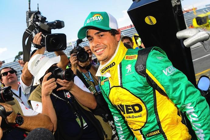 Marcos Gomes conquistou a liderança em Curitiba (Foto: Duda Bairros)