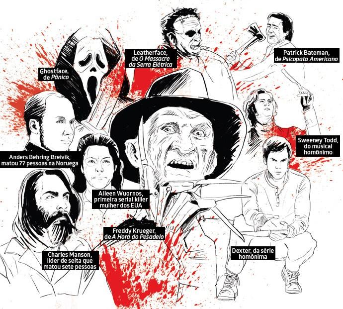 Crime e recompensa: Histórias de serial killers chamam atenção tanto no noticiário quanto na ficção  (Foto: Luís Dourado/ Editora Globo)