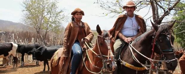 Família preserva o ofício de vaqueiro  (TV Verdes Mares/Reprodução)