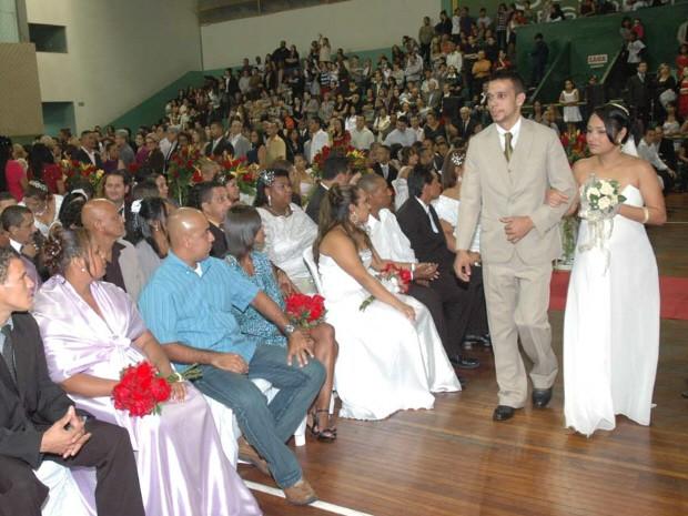 Casamento comunitário será realizado em Santos, SP (Foto: Divulgação/Prefeitura de Santos)