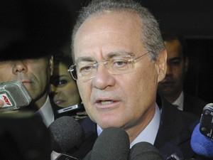 O presidente do Senado, Renan Calheiros (PMDB-AL) (Foto: Jane de Araújo/Ag.Senado)
