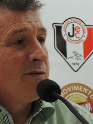 Nereu Martinelli Joinville (Foto: João Lucas Cardoso)