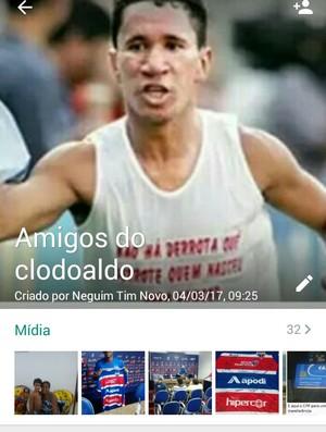 Grupo, clodoaldo, whatsapp (Foto: Carlos Henrique/Arquivo Pessoal)