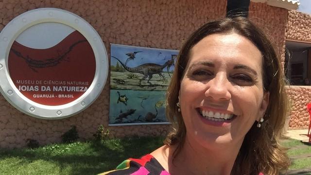 Rosana Valle te leva para um passeio inesquecível pelos museus da região (Foto: Arquivo Pessoal)