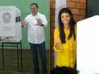 Governadora em exercício de MS se encontra com prefeito que a derrotou