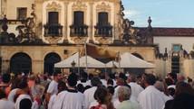 Programação religiosa reúne fiéis na capital (Natália Xavier/G1)