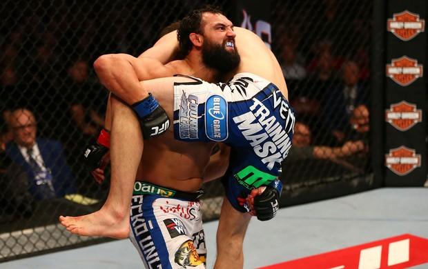 UFC 158 Carlos Condit e Johny Hendricks (Foto: Agência Getty Images)