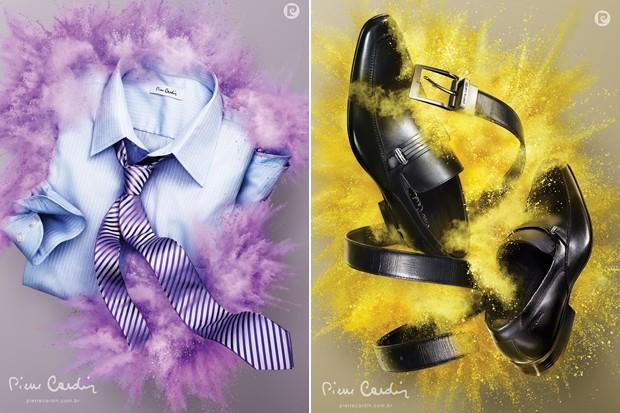 Campanha da nova coleção da Pierre Cardin, à venda na loja virtual a partir de 25 de junho (Foto: Divulgação)