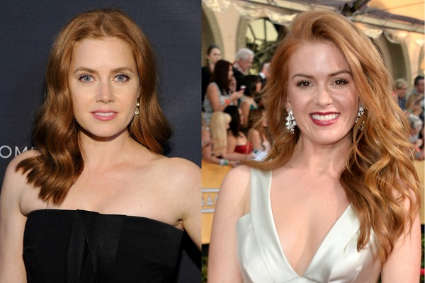 As atrizes Amy Adams e Isla Fisher (Foto: Getty Images)