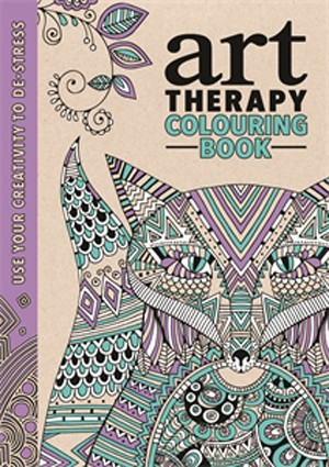 THE ART THERAPY COLOURING BOOK Autor: Richard Merritt, Hannah Davies & Cindy Wilde  Editora: Michael O'Mara (Foto: Divulgação)