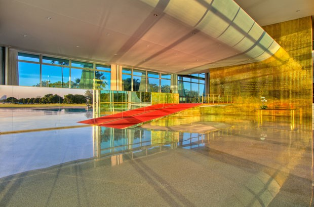 Conheça o Palácio da Alvorada (Foto: Ichiro Guerra/Divulgação)
