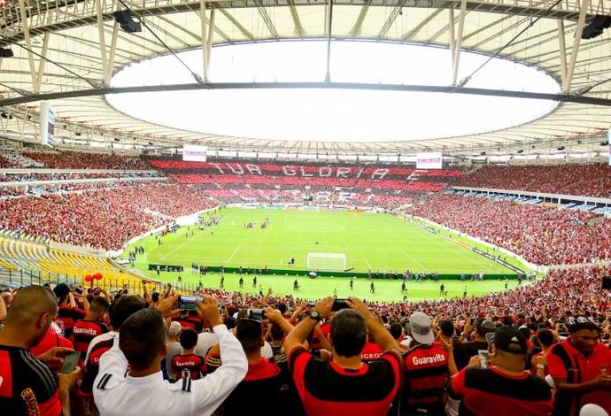 mosaico, Flamengo (Foto: Divulgação / Flamengo)