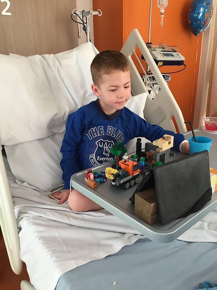 Jake no hospital (Foto: Reprodução)
