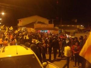 'Foi uma festa enorme', diz candidato eleito por um voto (Foto: Arquivo Pessoal/ Alexandre Berto)