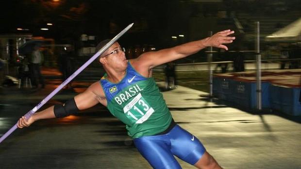 Reynan Pereira Costa, atleta piauiense do lançamento do dardo (Foto: Reprodução/Facebook)