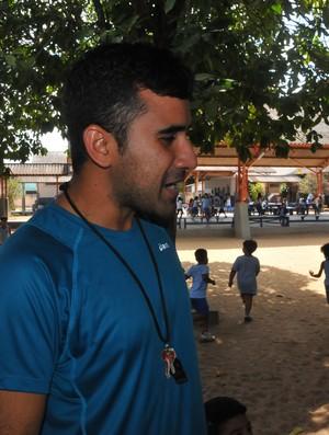 Educador físico Walfre Júnior (Foto: Rodrigo Menaros)