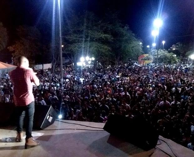 Os shows do Pedro Lima sempre lotam (Divulgação) (Foto: Divulgação)
