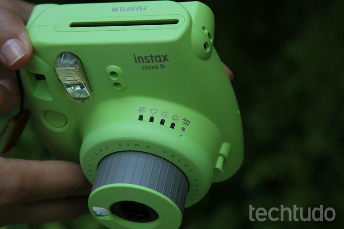 e2028891c Instax Mini 9 (Foto  Luciana Maline TechTudo)