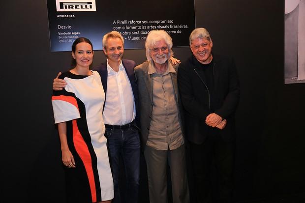 Brenda Valansi, Paolo Dal Pino, Bernardo Paz e Antônio Grassi (Foto: Divulgação)