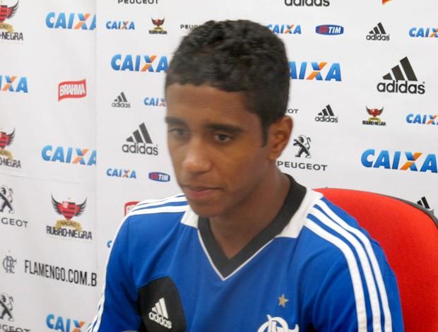 Gabriel Flamengo coletiva (Foto: Fabio Leme)