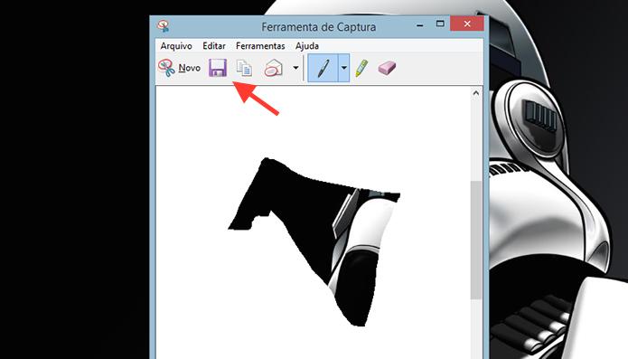 Acessando a página para salvar a captura de tela no Windows (Foto: Reprodução/Marvin Costa)