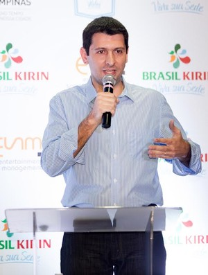 Fernando Maroni supervisor seleção brasileira Campinas vôlei (Foto: Divulgação / Brasil Kirin)