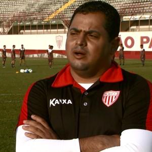 Leston Júnior técnico Mogi Mirim (Foto: José Braz / EPTV)