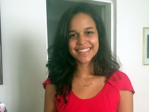 Lara recebeu apoio do argumento de inclusão para garantir vaga no curso de medicina em Caicó (Foto: Glácia Lima/G1)