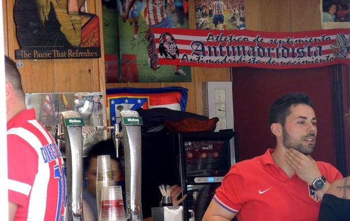 Atlético de Madrid x Barcelona ambiente  (Foto: Cassio Barco)