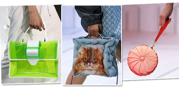 Bolsas da LFW (Foto: Getty Images)