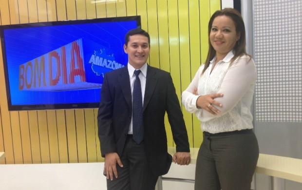 O Bom Dia Amazônia passa a ter o jornalista Salgado Neto na apresentação (Foto: Rodrigo Sales/TV Amapá)