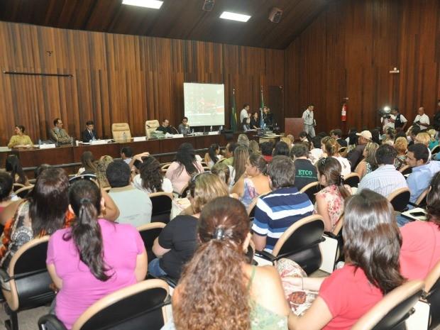 Audiência pública sobre leishmaniose em Campo Grande (Foto: Tatiane Queiroz/ G1MS)