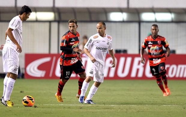 Leo jogo Santos Flamengo-PI (Foto: Wander Roberto / Vipcomm)