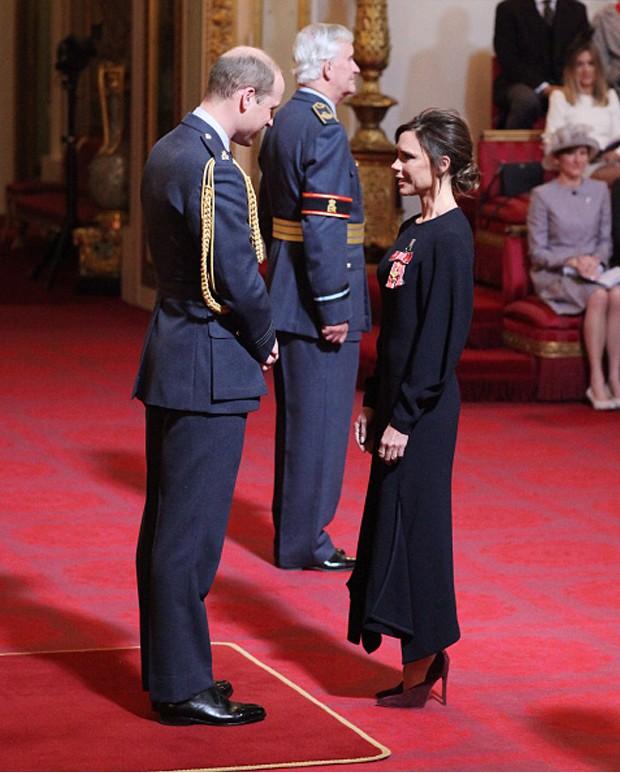 Príncipe William e Victoria Beckham (Foto: Getty Images)