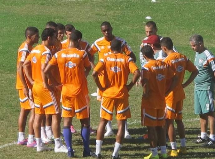 Treino Fluminense Laranjeiras (Foto: Fred Huber)