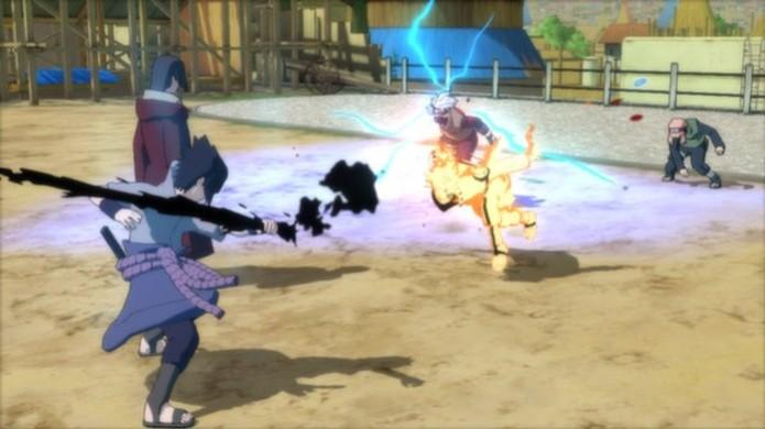 Naruto Shippuden: UNSR continua refém de um sistema de batalha muito simplificado (Foto: Divulgação) (Foto: Naruto Shippuden: UNSR continua refém de um sistema de batalha muito simplificado (Foto: Divulgação))