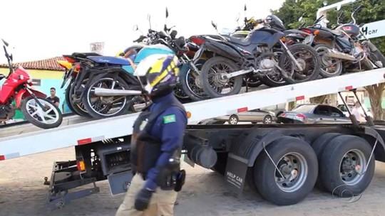 Mais de 250 motos são apreendidas em operação da PRF em rodovias de Alagoas